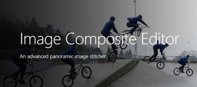 Capture d'écran du site de l'application Microsoft ICE.