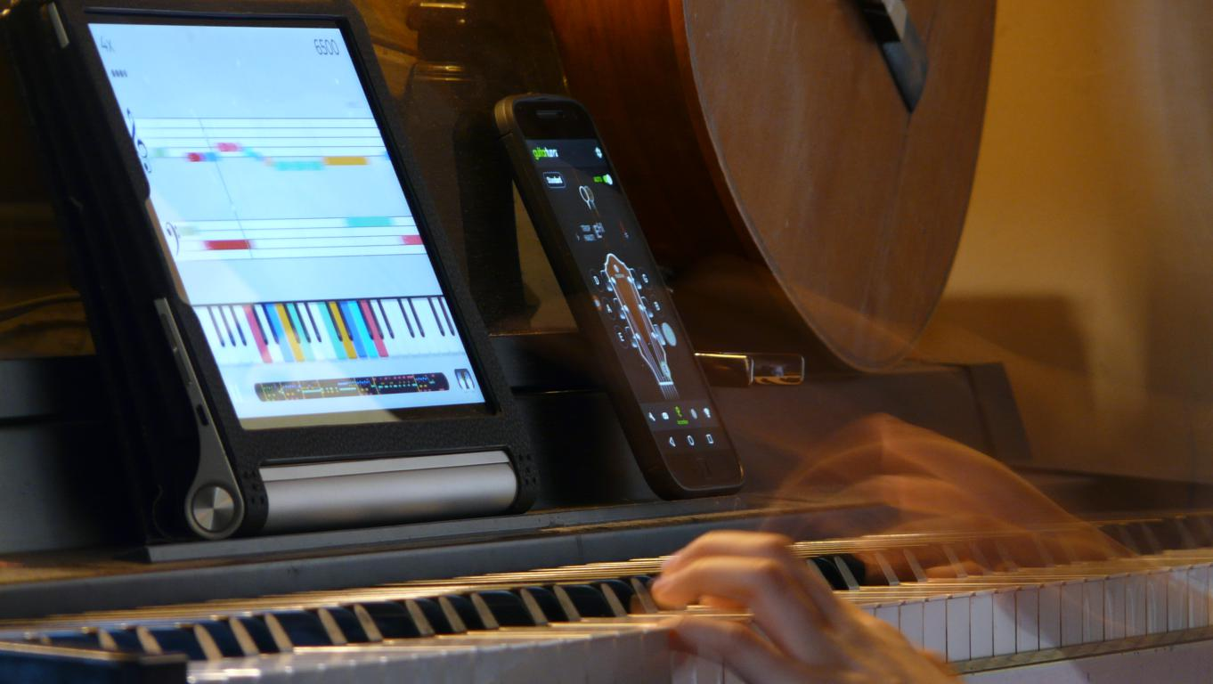 application android pour jouer de la musique