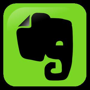 Logo Evernote représentant une tête d'éléphant